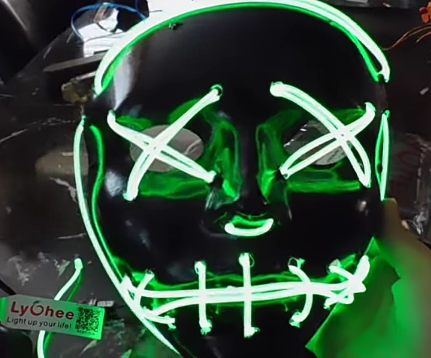 How to Make a DIY Purge Halloween Mask for Kinds and Adult