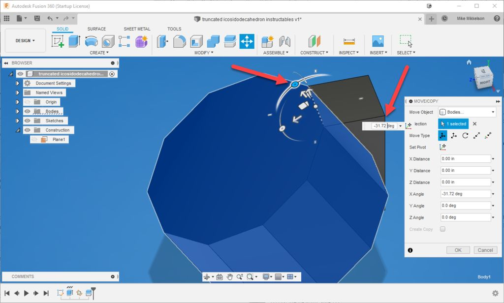 Picture of Rotate the Decagon Body