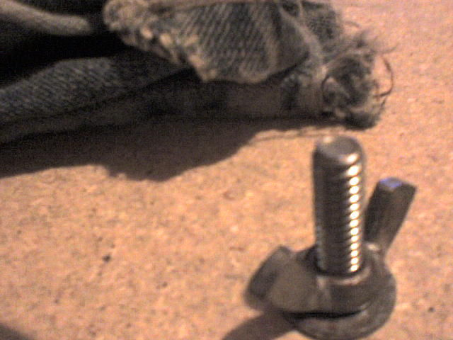 """Picture of High Torque Wing Nut Tightening/Removal """"Ghetto Style"""""""