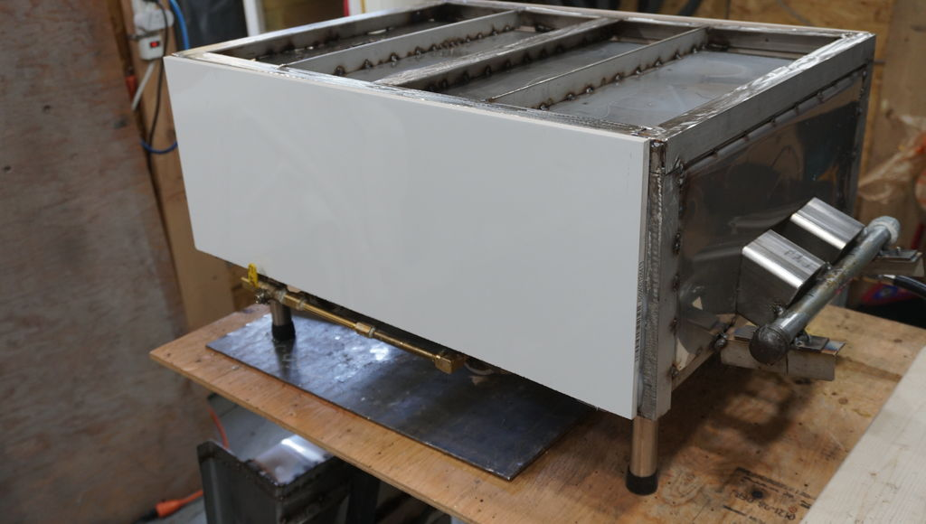 Picture of Cladding the Oven With Tile and Assembly
