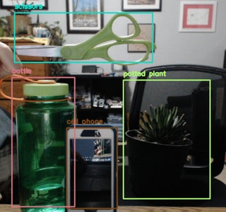 OpenCV Common Object Detection Test