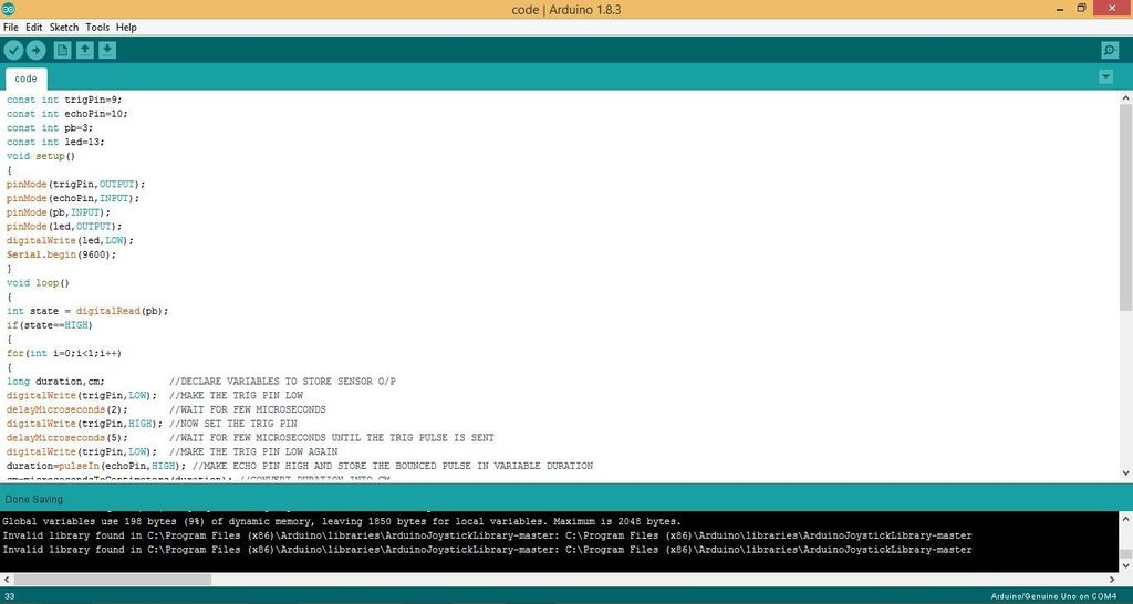 Picture of Uploading the Code to Your Arduino Board