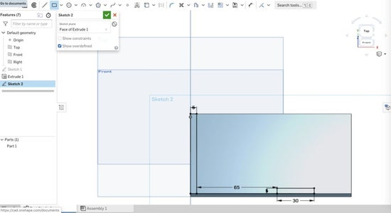 Create Rectangles for Edges of Track Switch Board