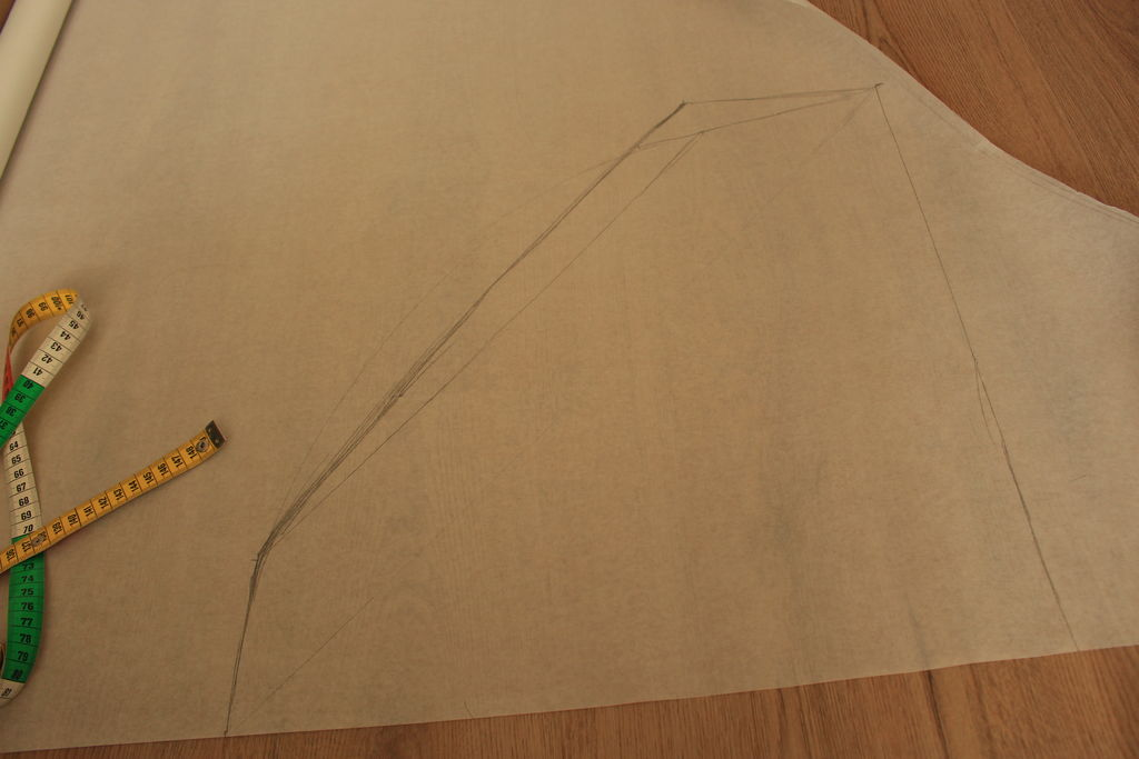 Picture of Sketching Out the Pattern