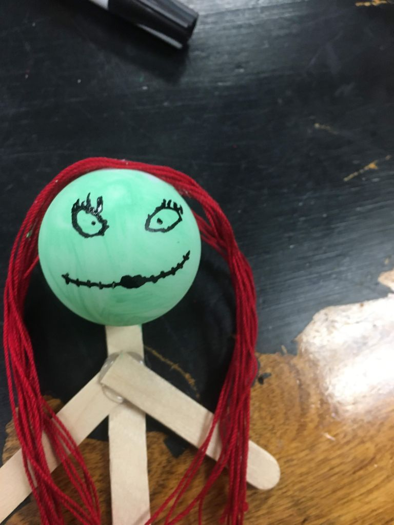 Picture of Draw Sally's Face