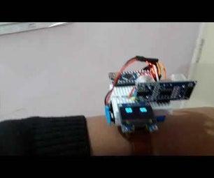Distance Measuring Watch