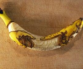 香蕉雕刻的神秘世界