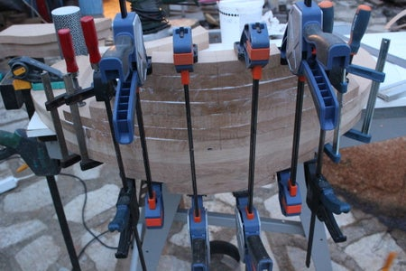 Back and Arm Rest Block : Lower Part