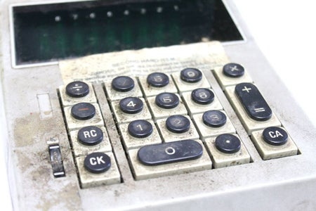Making the Case From an Old Calculator
