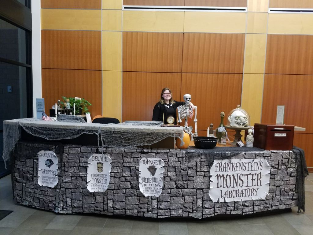 Picture of Monster Laboratory- Workplace Decorations