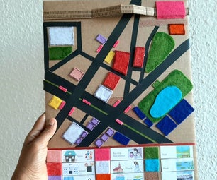 Neighbourhood Map for Kids