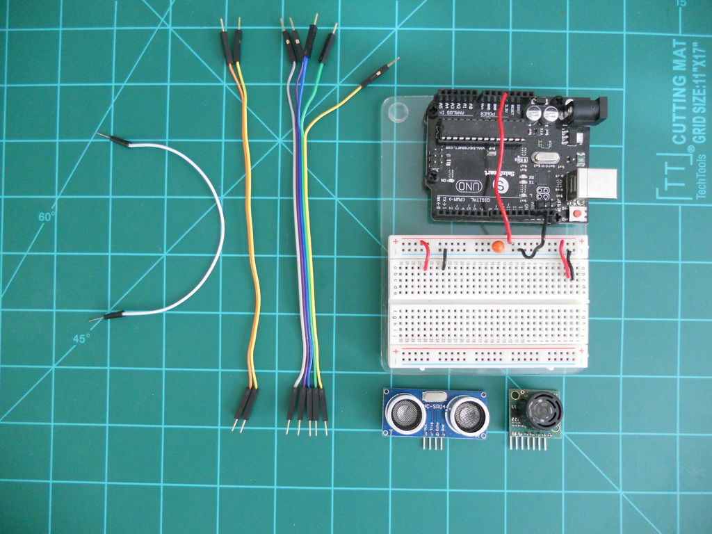 Picture of Getting Started - Arduino-Breadboard Setup