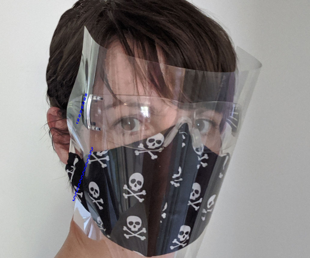 Five-Minute Face Shield