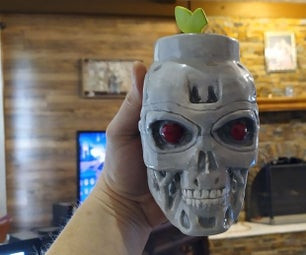 Sculpting a T800 Coffee Cup