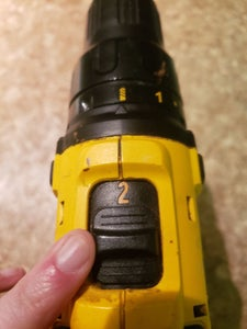 Using the Power Drill- Buttons