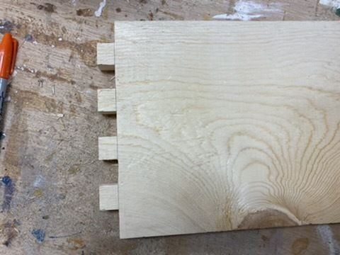 Picture of Cutting the Box Joints