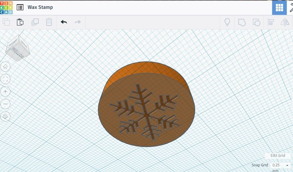 Picture of 3D Modeling Your Stamp, Cont.