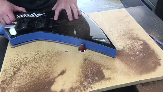 Route Shape and Sand Smooth