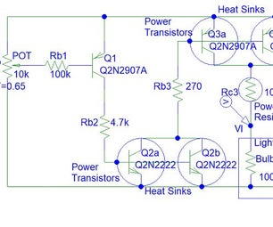 Transistor Light Dimmer