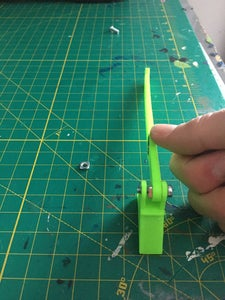 Connecting the Counterweight to the Arm