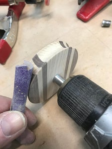 Routering the Groove in the Pulley