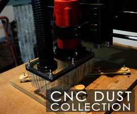 CNC Dust Collection / 3D Printed