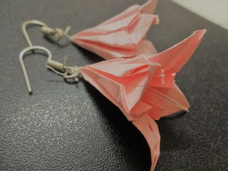 Origami Lily Instructions. Learn How to Make One | 240x320