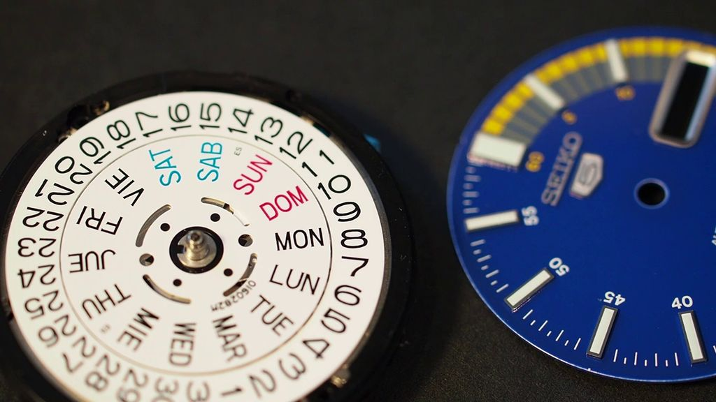 Picture of Disassembly: the Dial