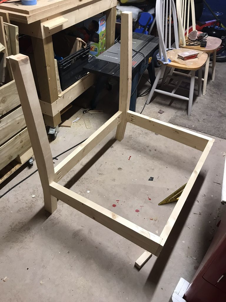 Picture of Assembling the Frame