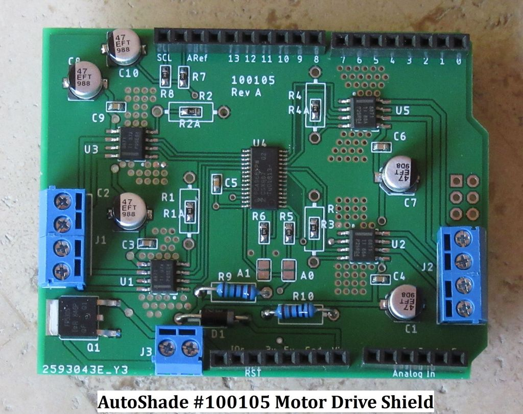 Picture of Select Candidate Step Motor Drivers