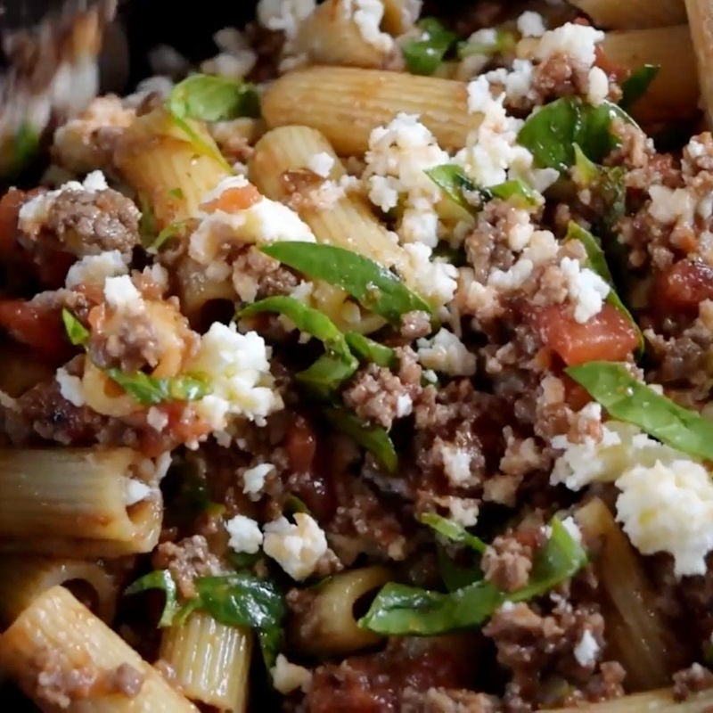 Picture of Meal Prep 1: Dinner - Rigatoni Pasta Bake