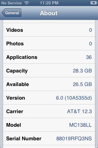 Picture of Update Device to IOS 6 Beta 3
