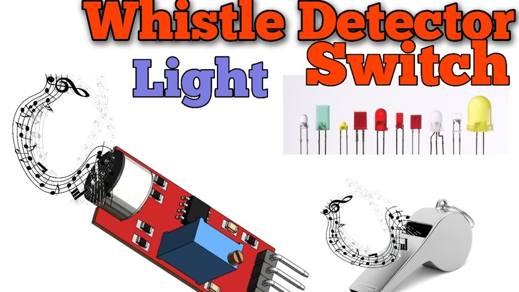 Picture of  Whistle Detector Light Switches