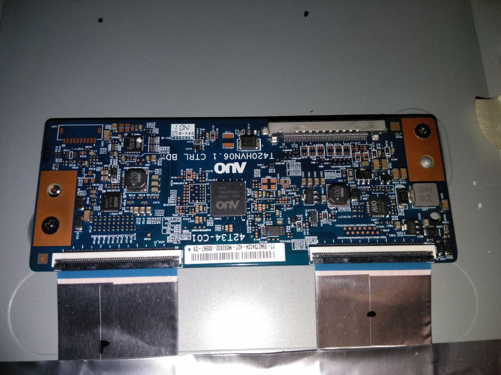 Picture of Locate the T-Con Board (if Your TV Has One)