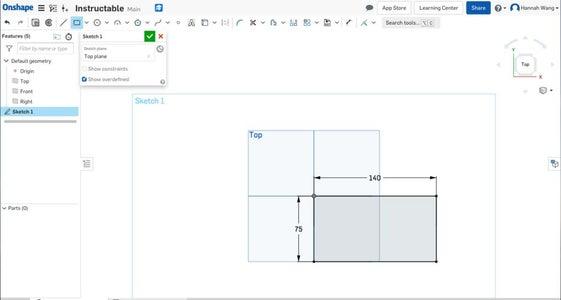 Create a Corner Rectangle