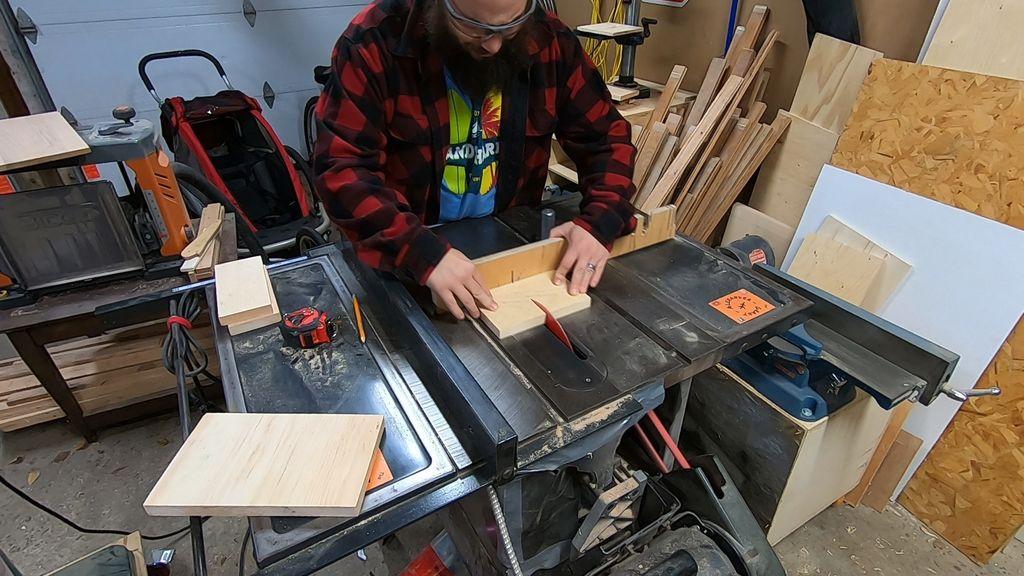 Picture of Preparing the Scrap Wood