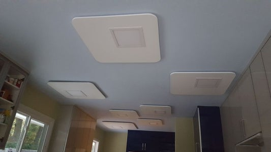 Awesome Mid-Century Modern Cloud LED Lights Project