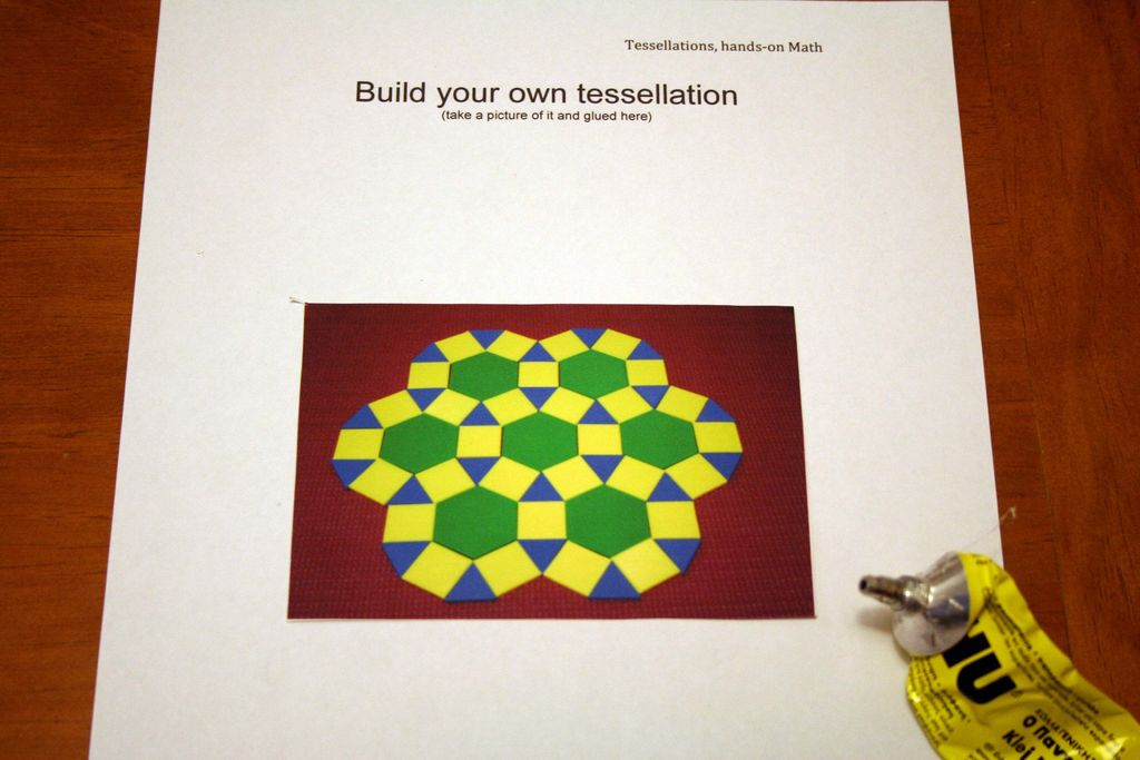 Picture of Classroom Activity - Build Your Own Tessellation