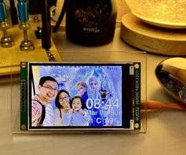 Face Aware OSD Photo Frame