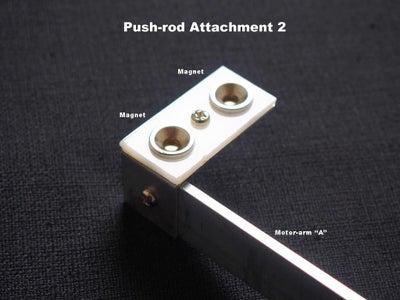 "Motor-arm ""Push-rod""  Attachments"