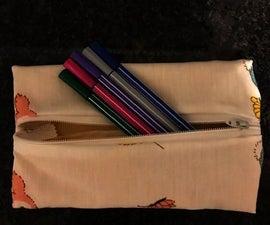 10 Step Pencil Pouch