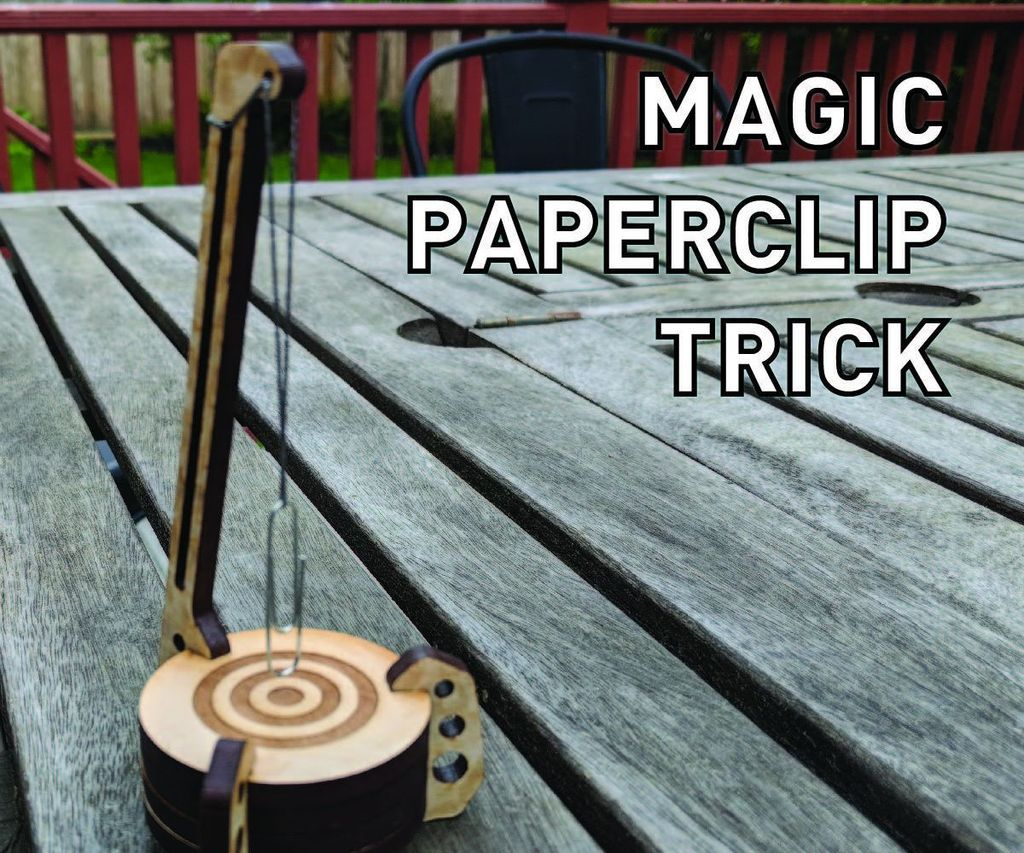 Magic Floating Paperclip