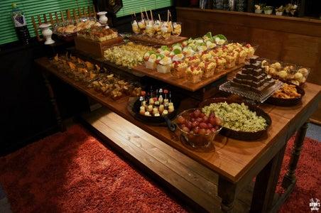 Rustic Halloween Food Display!