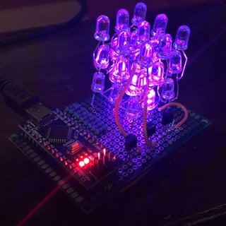 Making an Arduino 3X3 LED Cube in Less Than 30 Minutes