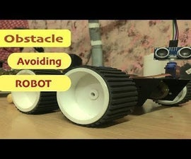 How to Make a DIY Arduino Obstacle Avoiding Robot at Home