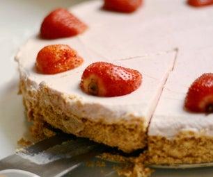 自硬草莓芝士蛋糕