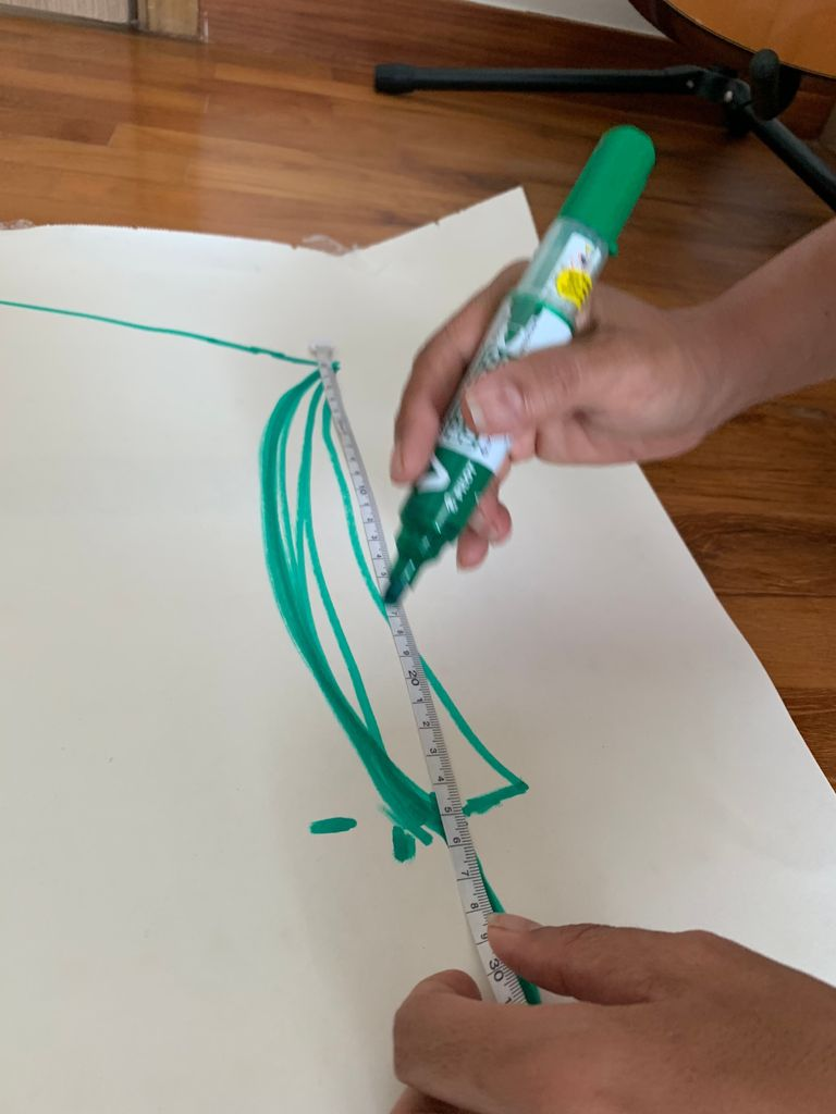Picture of Cutting Out the Shape of the Body