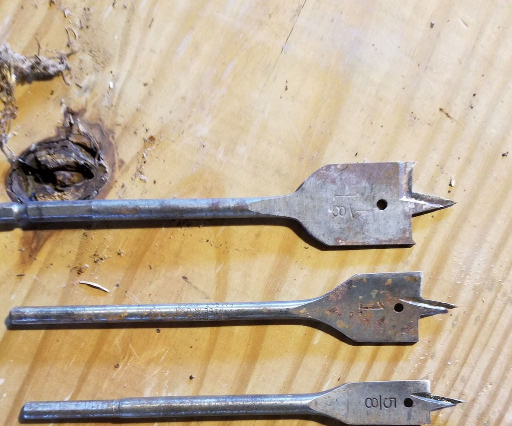 Repair/ Sharpen and Modify Spade Bits