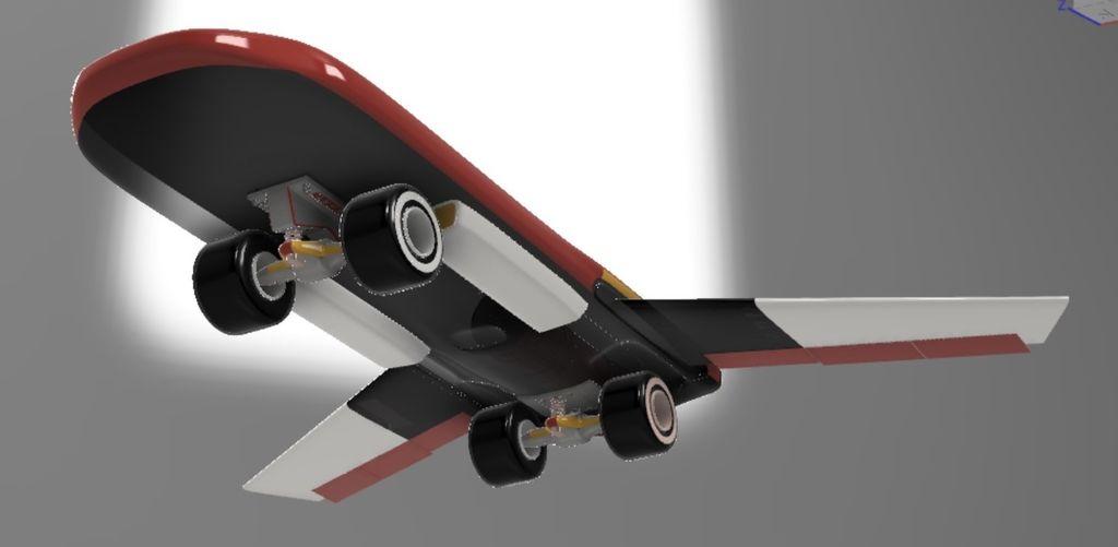 Picture of Land Skimming Flight Mode