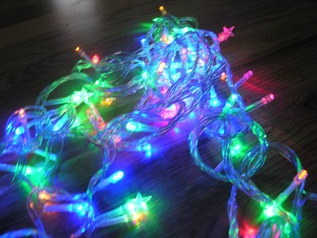Arduino Controlled Flashing Christmas Fairy Lights with Jingle Bells